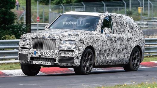 Глава Rolls-Royce унизил внедорожник от Bentley