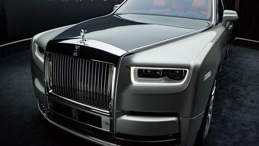 Представлен седан Роллс Ройс  Phantom обновленного поколения  — Фантомная роскошь