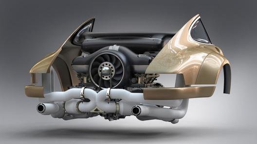 27-летный Порш 911 получил 500-сильный мотор