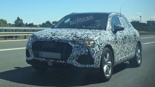 Новейший кроссовер Audi Q3: первые подробности