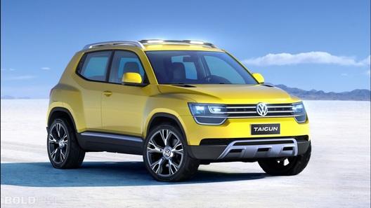 Volkswagen выпустит самый маленький и дешевый кроссовер