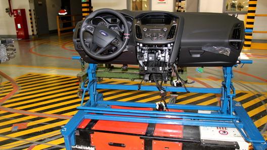 Навсеволожском заводе Форд трудятся роботы «Болек» и«Лелек»