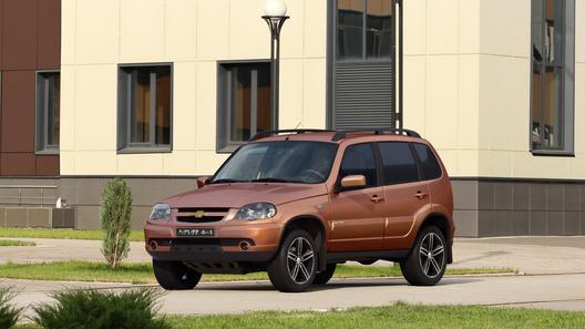 GM-«АвтоВАЗ» выпустил юбилейную Chevrolet Niva