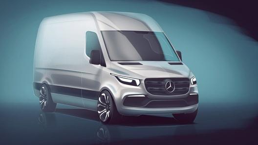 Mercedes продемонстрировал, как будет выглядеть новый Sprinter