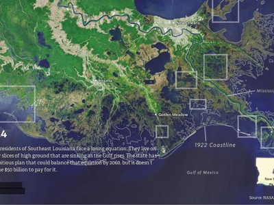 Новая Атлантида: Как США теряют территорию Луизианы