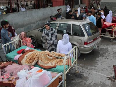 Мощное землетрясение в Центральной Азии: первые жертвы и пострадавшие