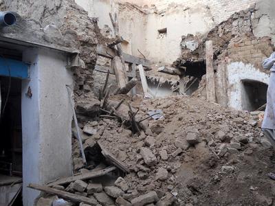 Землетрясение в Афганистане: 41 житель Пешавара - в больнице