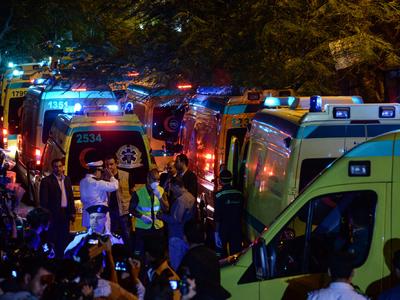 Тела жертв катастрофы над Синаем начнут отправлять в 19:00