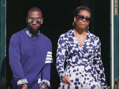 мишель обама зачитала рэп пользе высшего образования видео