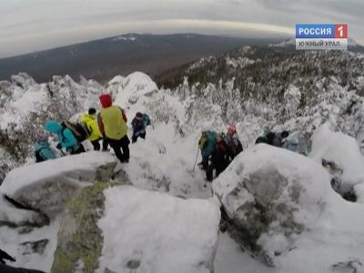 На Таганае выпало рекордное количество снега