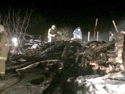 Сильнейший пожар в Татарстане: погибли мать и пятеро детей