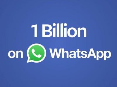 WhatsApp преодолел отметку в 1 млрд пользователей