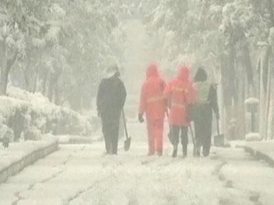 В Гуанчжоу впервые за 60 лет выпал снег