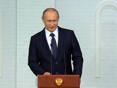 Владимир Путин прилетел в столицу Белоруссии