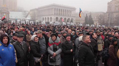 Киевляне призывают к революции против режима
