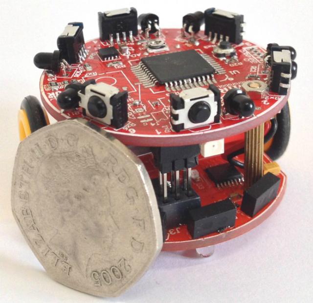 Диаметр робота – около 4 сантиметров (фото University of Lincoln).