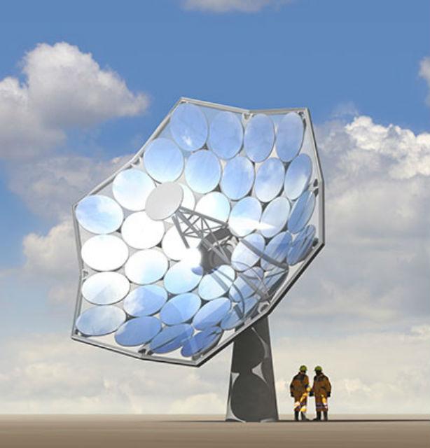 """""""Подсолнухи"""" будут иметь площадь около 40 квадратных метров (иллюстрация Airlight Energy)."""