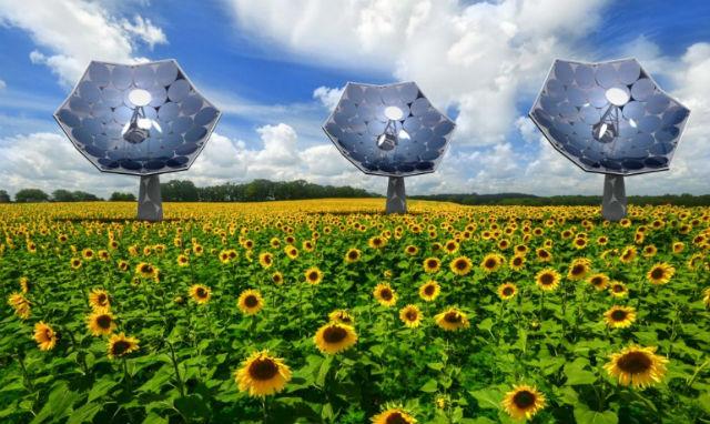 Каждая станция будет вырабатывать до 2 кВт электроэнергии и 20 кВт тепла (иллюстрация Airlight Energy/IBM).