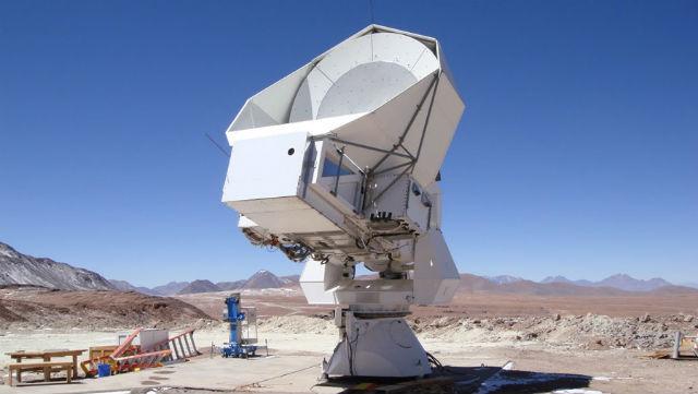 """Телескоп """"Хуан Тран"""" в пустыне Атакама, при помощи которого проводятся наблюдения (фото UC Berkeley)."""