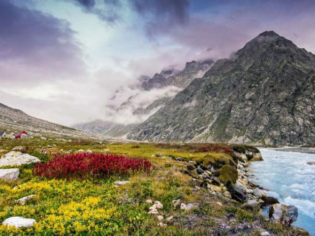 Устойчивые к холодам культуры позволили земледельцам покинуть долину реки и подняться в горы (фото Wen Tao).
