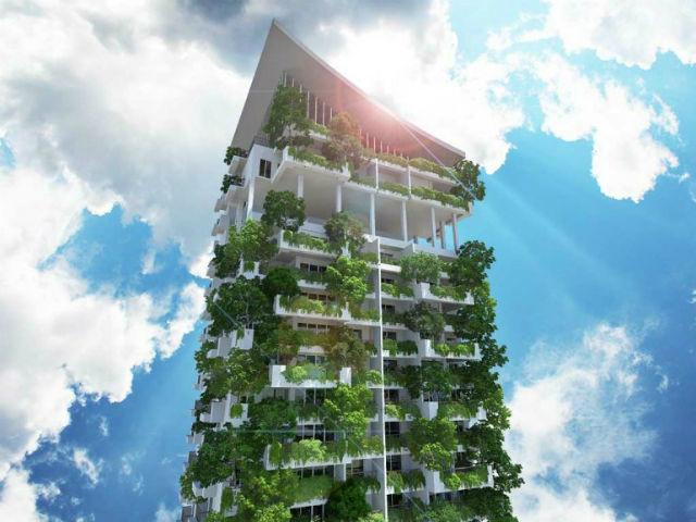 В Шри-Ланке планируется строительство экологически чистого вертикального сада