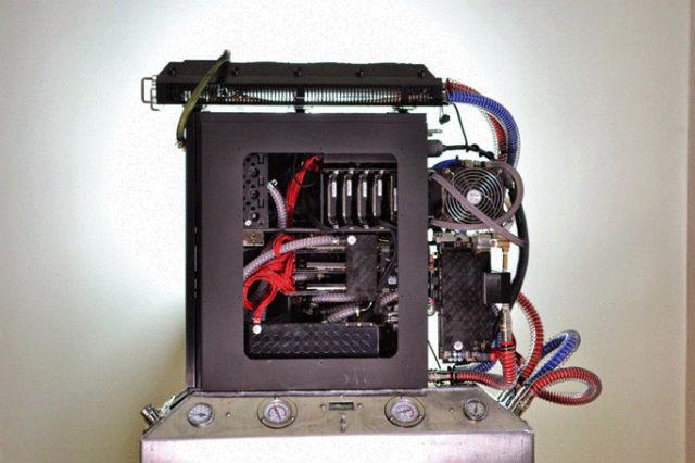 """Прототип сервера-печки """"Генри"""" (фото Project Exergy)."""