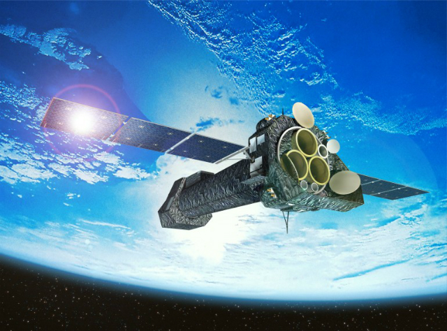 Космический телескоп XMM-Newton (иллюстрация ESA).