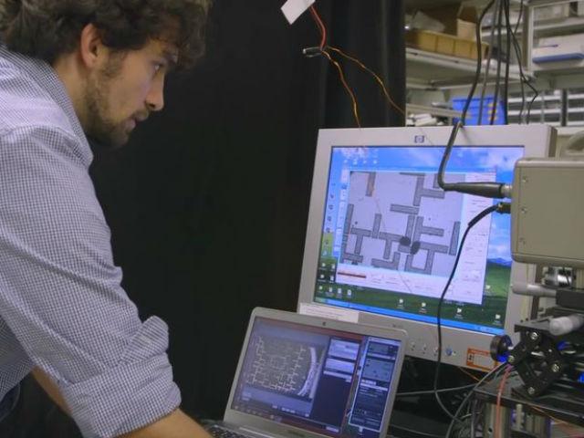 Синхронное движение капель по определённым схемам, снятое на камеру, кодирует информацию в бинарном коде (фото Stanford University).