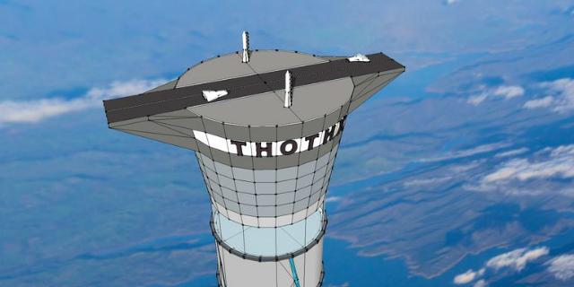 Также Thothx будет использоваться в качестве стартовой и посадочной площадки для космических аппаратов и кораблей (иллюстрация Thoth Technology).