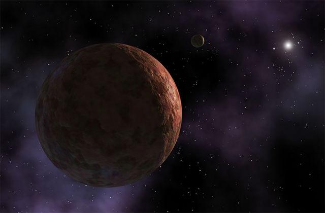Седна в представлении художника (иллюстрация NASA/JPL-Сaltech).