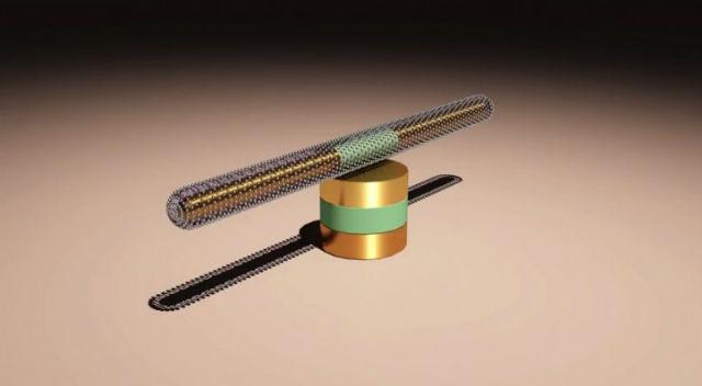 Инженеры из Техаса создали самый быстрый, мощный, выносливый и компактный наномотор в мире (иллюстрация University of Texas).