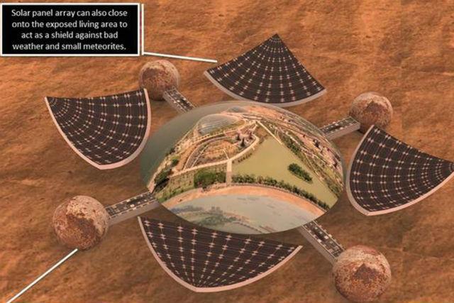Один из проектов-участников DasDome, представленный Пьером Мейтангом (Pierre Meyitang) (иллюстрация Pierre Meyitang).