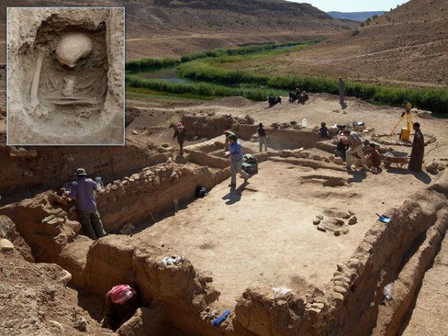 Раскопки в Сирии, поселение древних земледельцев Tell Halula (фото SAPPO/UAB).