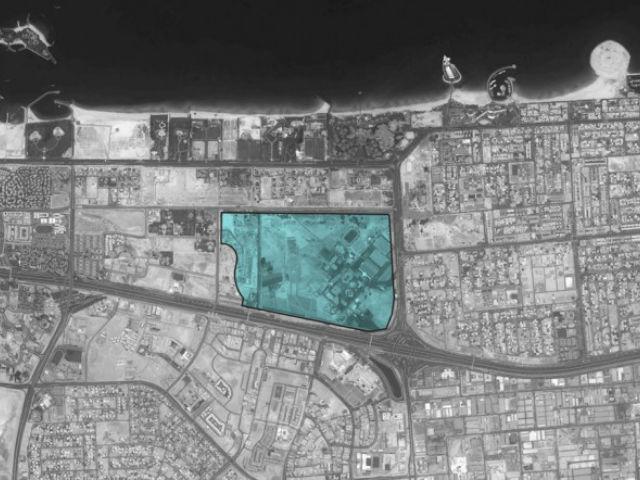 Протяжённость города с собственным климат-контролем составит 7 километров (иллюстрация Dubai Holding).