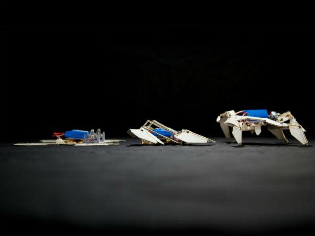 Роботы-оригами сами соберутся в мебель