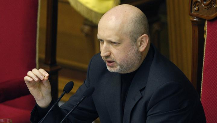 Турчинов хочет вернуть Крым с помощью мощнейшей армии Европы