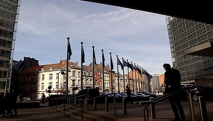 Отложено начало саммита ес в брюсселе