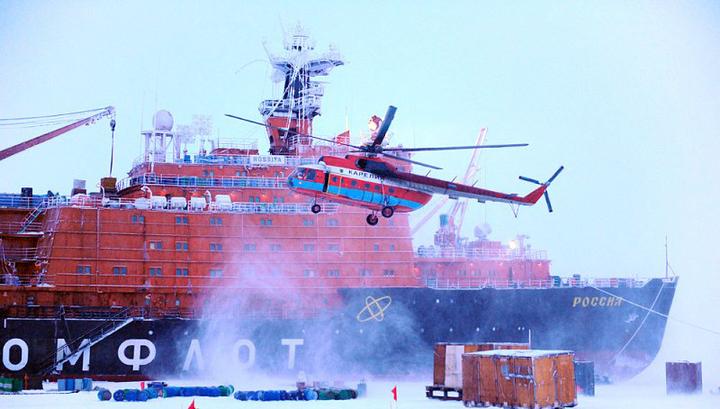 Арктика какой полюс