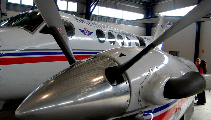 Упал самолет пострадали 4 человека