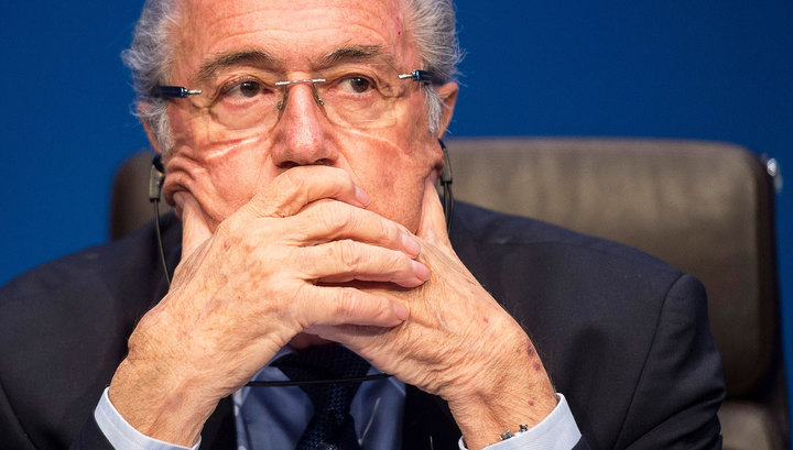 Joseph Blatter announced his resignation as president of FIFA
