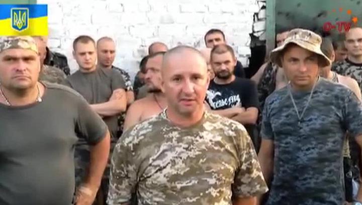 Бойцы батальона танковой бригады ВС Украины выдвинули ультиматум Петру Порошенко