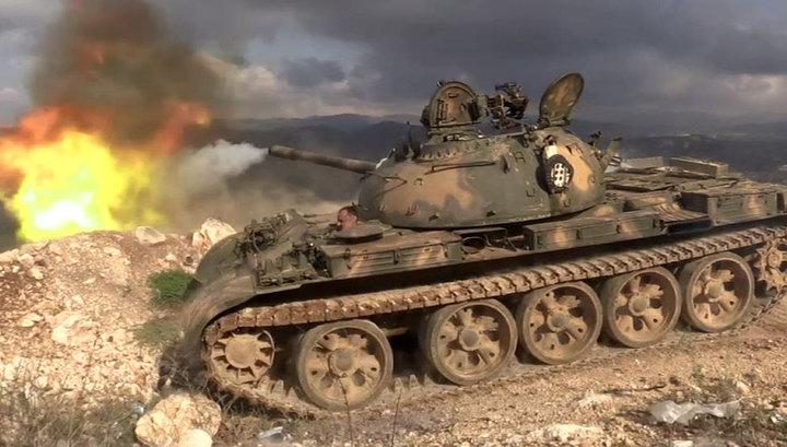 Наступательная операция сирийской армии