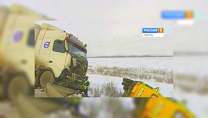 На трассе Пермь-Кунгур