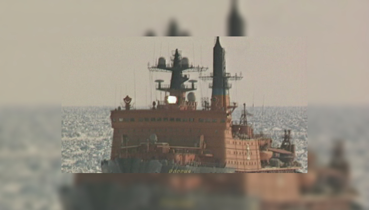 Атомоход россия достиг северного