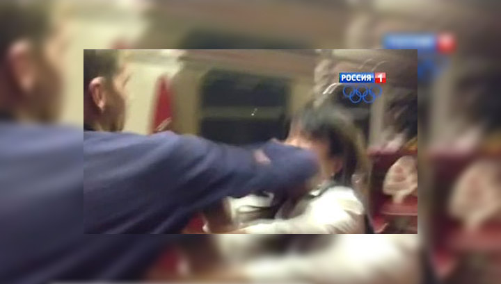 из поезда Калининград