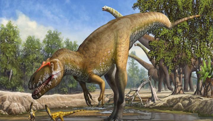 Торвозавр в представлении художника