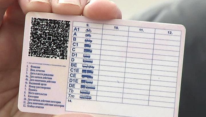 категории водительского удостоверения нового образца 2015 - фото 4