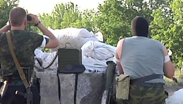 В луганской области бойцы нацгвардии