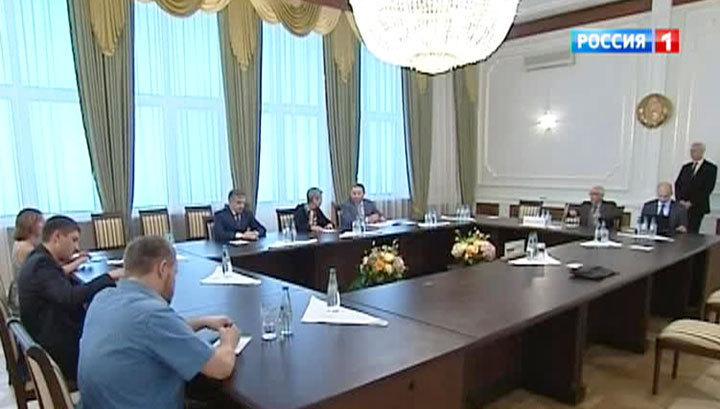 в Минске: ополченцы и