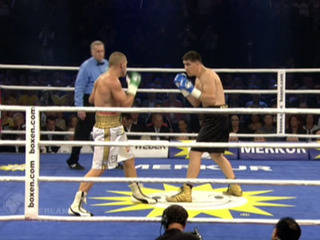 Профессиональный бокс. Марко Хук (Германия) против Мирко Ларгетти (Италия). Бой за титул чемпиона мира по версии WBO